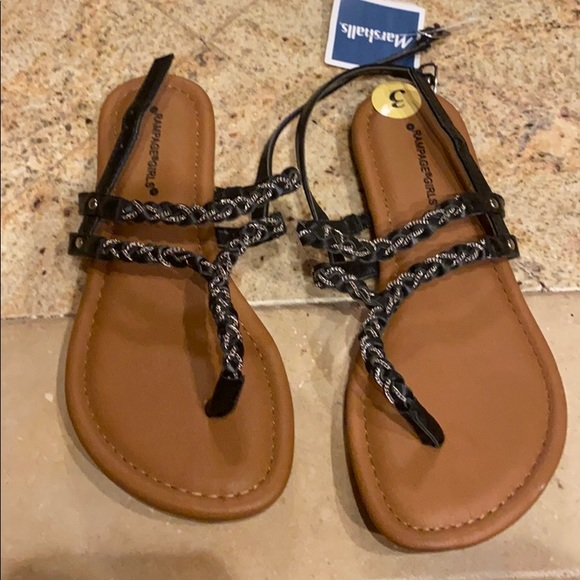 Rampage Shoes   Girls Sandals Size 3